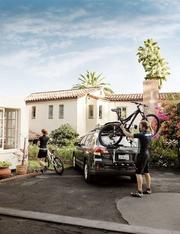 Kerékpártartó bérlés hátsó ajtóra