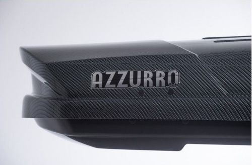 Azzurro Carbon Silver tetobox fekete hatul 606n xj