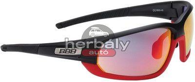BBB Adapt BSG-45 kerékpáros szemüveg, fekete-piros