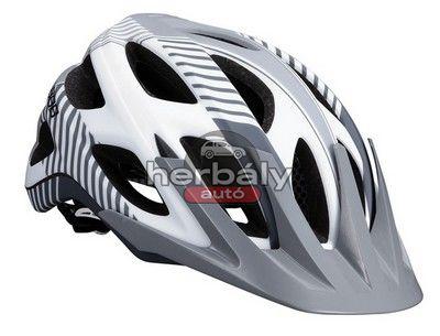 BBB Nerone BHE-68 MTB kerékpáros sisak - fehér/szürke