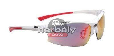 BBB Impulse Team BSG-38 kerékpáros szemüveg, fehér-piros