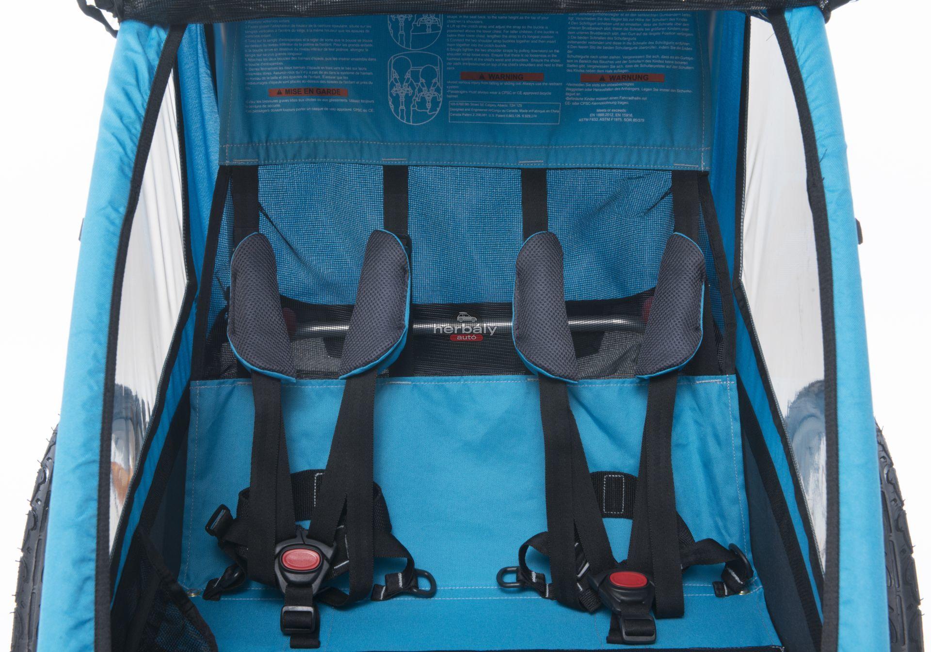Thule Coaster XT 10101803 kerékpáros utánfutó, gyerekszállító