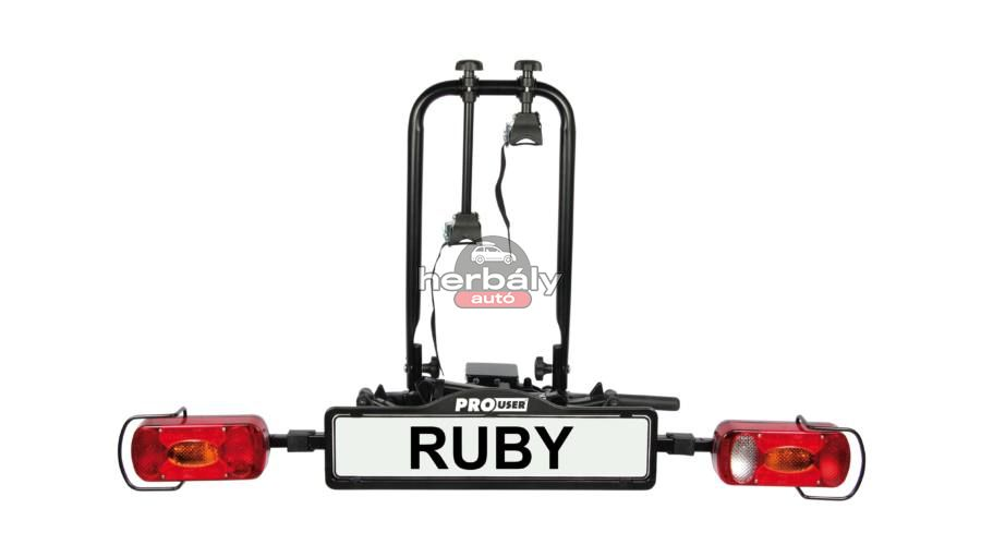 Pro User Ruby+ kerékpártartó vonóhorogra
