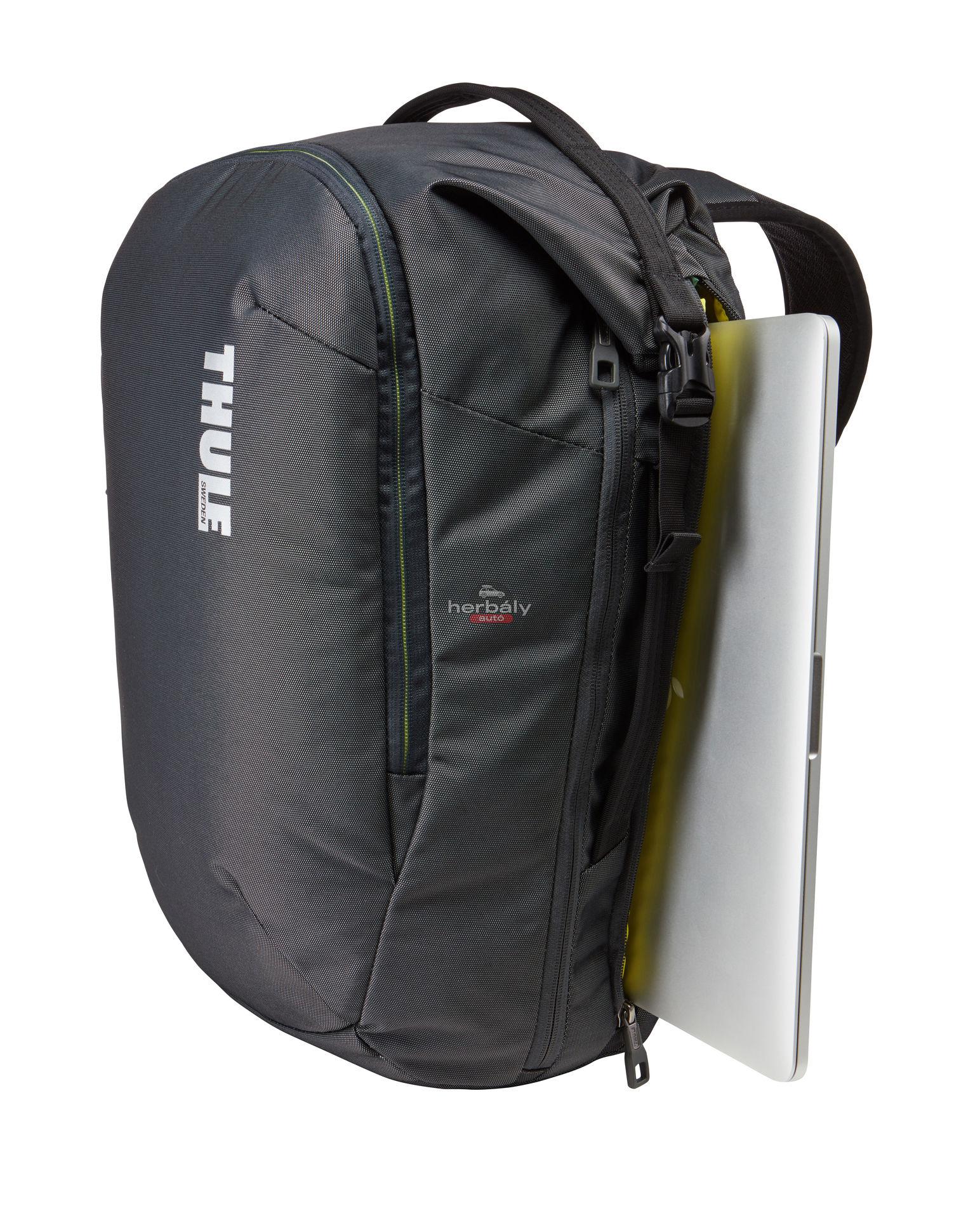 Thule Subterra TSTB-334DSH utazó hátizsák 34L, fekete