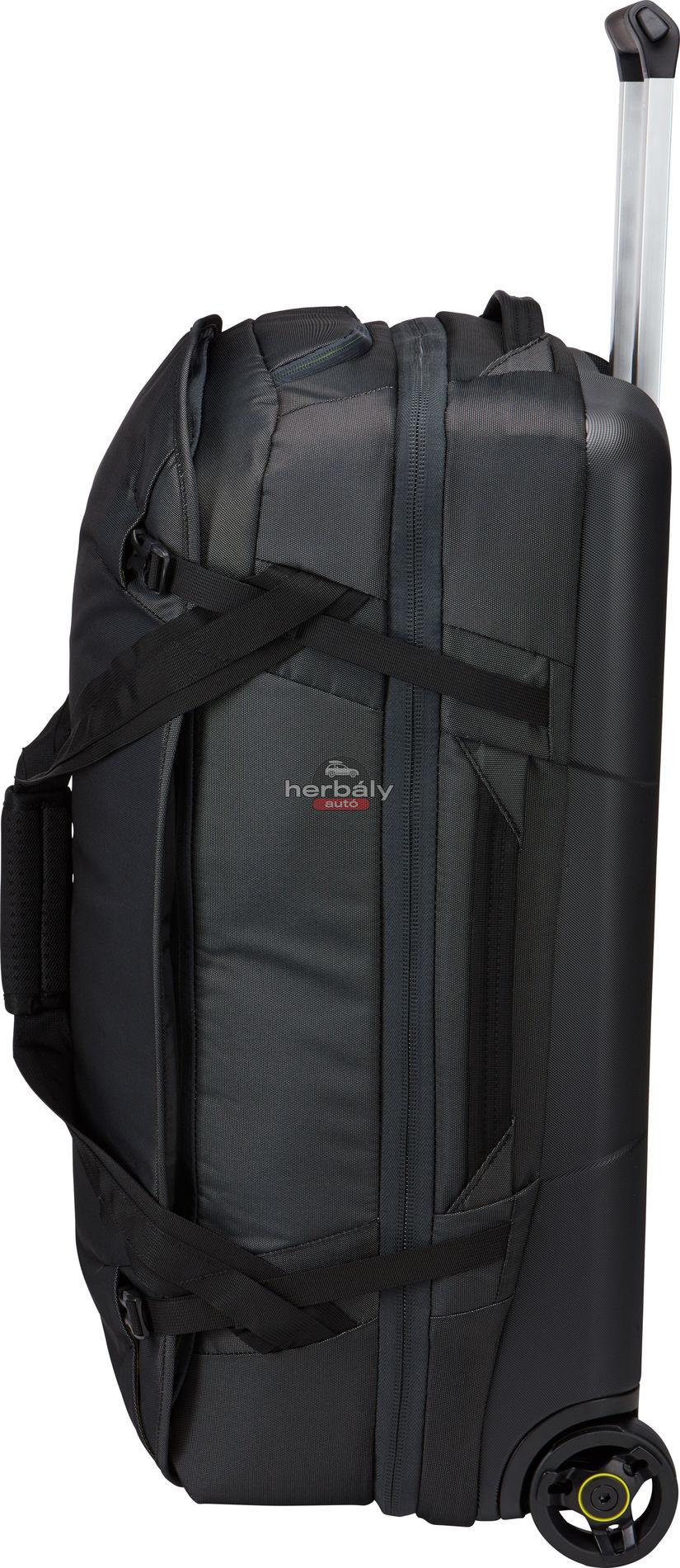 Thule Subterra TSR-375DSH 75L gurulós bőrönd, fekete