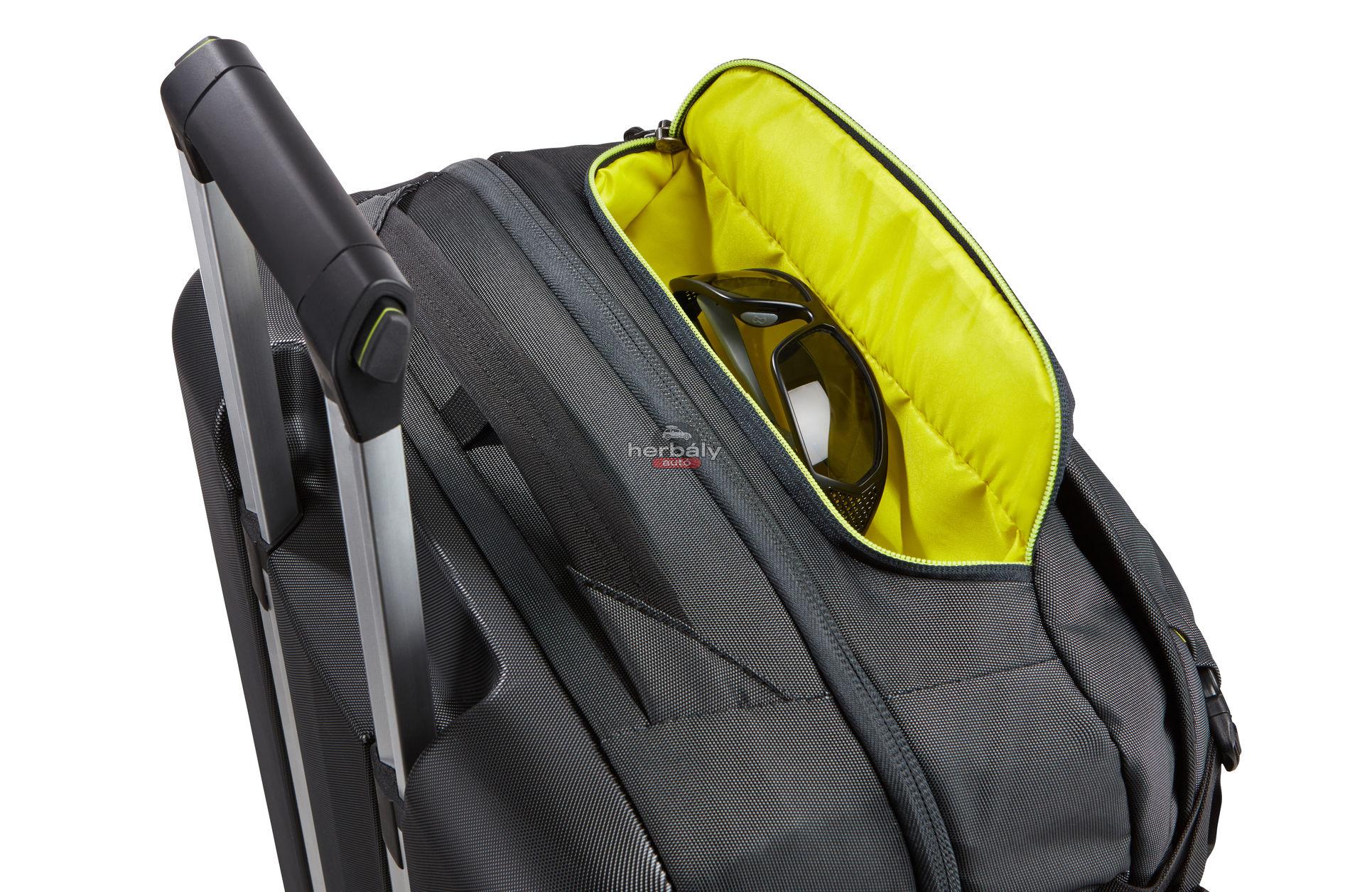 Thule Subterra TSR-375MIN 75L gurulós bőrönd, sötétkék