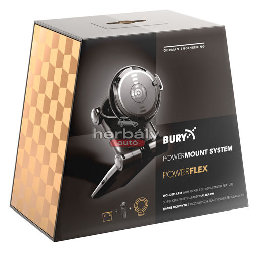 Bury PowerKit Qi telefontartó szett, induktív töltéssel