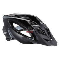 BBB Elbrus BHE-34 kerékpáros sisak - fekete/ezüst
