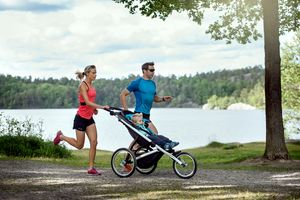 Thule Glide LS Stockholm Landscape jogging couple 10101901